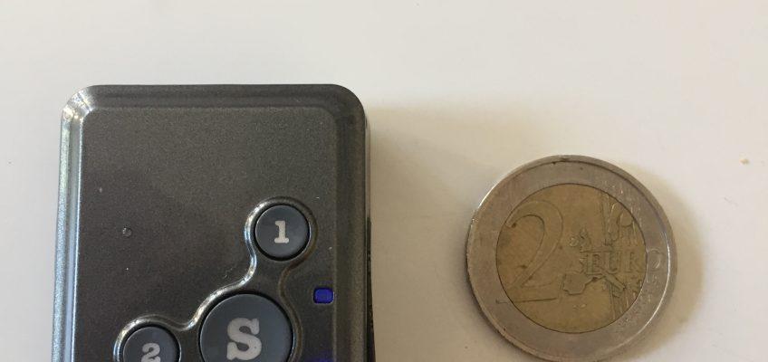 Mini GPS-Tracker mit SOS Notruffunktion